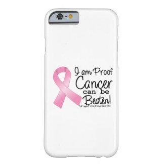 Soy cáncer de pecho de la prueba puedo ser batido funda de iPhone 6 barely there