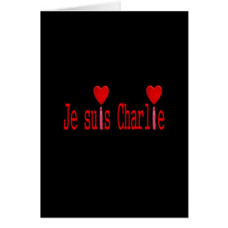 Soy Charlie Tarjeta De Felicitación