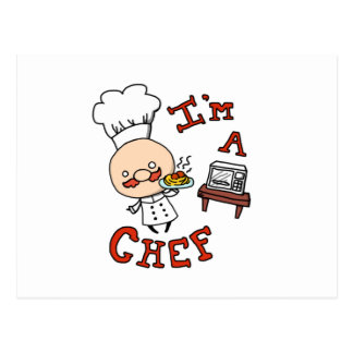 ¡Soy cocinero! Postal