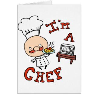 ¡Soy cocinero! Tarjeta De Felicitación