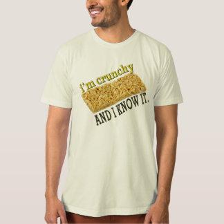 soy crujiente y lo sé camisetas