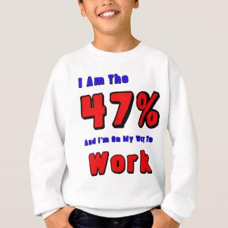 Soy el 47% sudadera