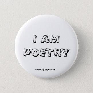 Soy el botón w/Website de la poesía