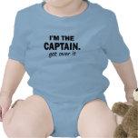 Soy el capitán. Consiga sobre él - divertido Trajes De Bebé