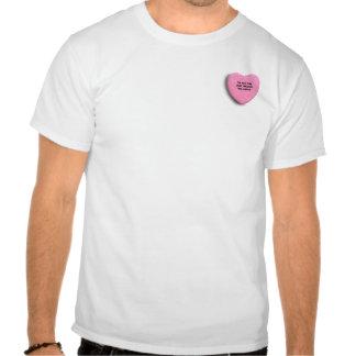 Soy EL CHICA que LE ADVIRTIERON ALREDEDOR Camisetas