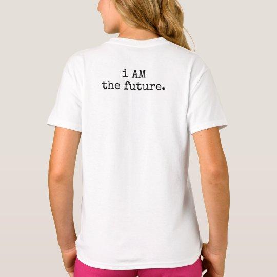 SOY el futuro. Camiseta del niño