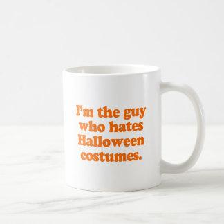 Soy el individuo que odia los disfraces de Hallowe Taza