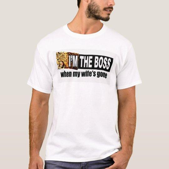 soy el jefe camiseta