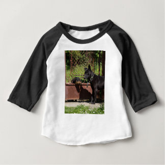 Soy el jefe camiseta de bebé