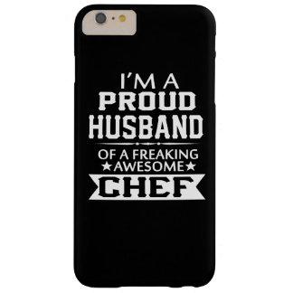 Soy el MARIDO de un cocinero ORGULLOSO Funda Barely There iPhone 6 Plus