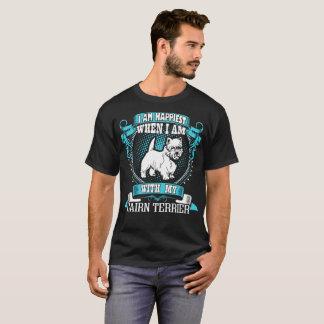 Soy el más feliz con mi camiseta del perro de