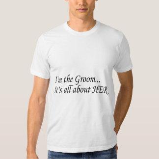 Soy el novio camisetas