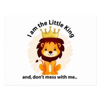 Soy el pequeño rey postal