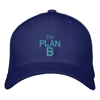 Soy el PLAN B - casquillo adaptable POR Gorra Bordada