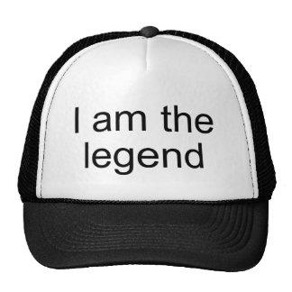 Soy el producto del funcionario de la leyenda gorras de camionero