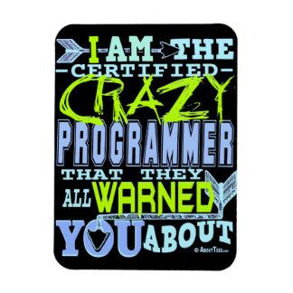 Soy el programador loco imán flexible
