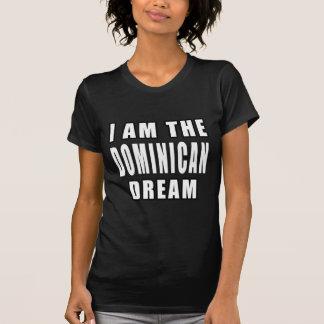 Soy el sueño dominicano camiseta