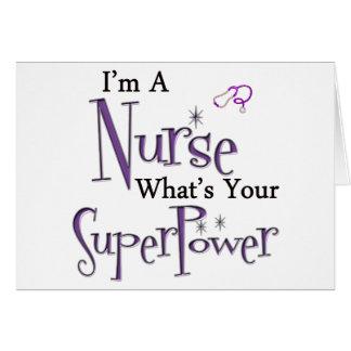 Soy enfermera felicitaciones