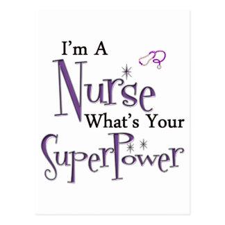 Soy enfermera postal