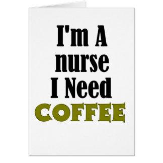Soy enfermera tarjetón