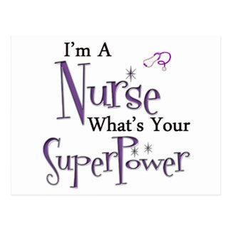Soy enfermera tarjetas postales