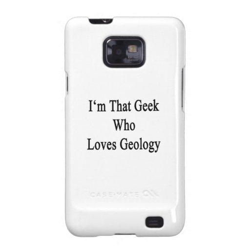 Soy ese friki que ama la geología samsung galaxy s2 carcasas