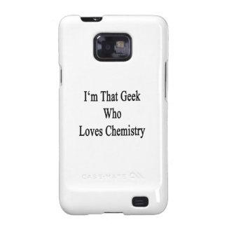 Soy ese friki que ama química galaxy s2 fundas