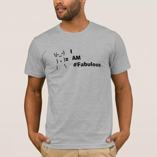 Soy #fabulous - la camiseta básica de los hombres