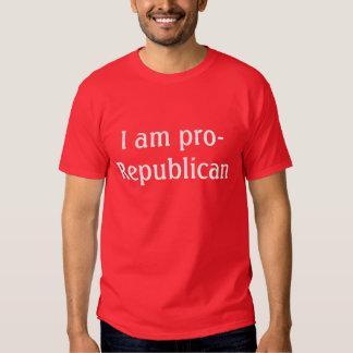 Soy favorable-Republicano - camiseta para hombre