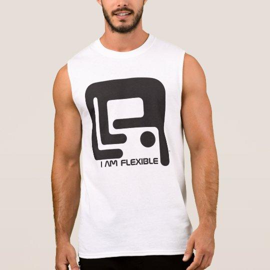 Soy flexible camiseta sin mangas