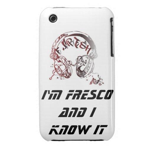 Soy fresco y lo sé caso iPhone 3 protector