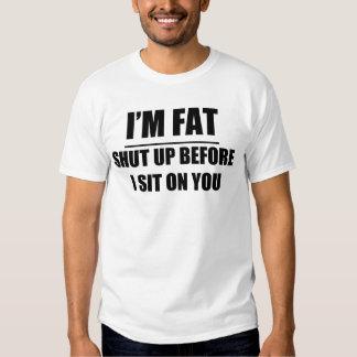 Soy gordo camisas
