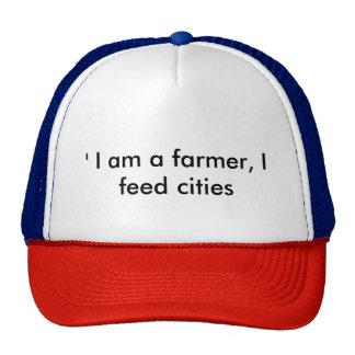 Soy granjero que alimento ciudades gorras