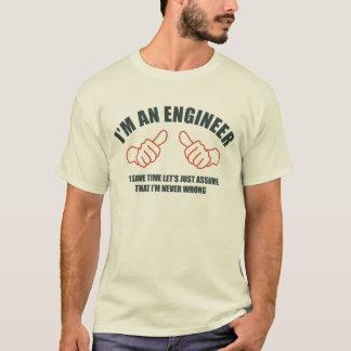 Soy ingeniero camiseta