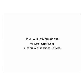 Soy ingeniero postal