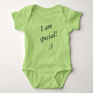 Soy juego especial del cuerpo del bebé body para bebé