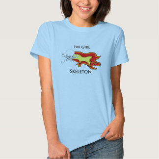 """¡""""Soy la camisa"""" de las mujeres ESQUELÉTICAS del Camisetas"""