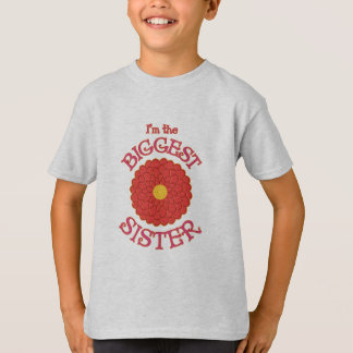 Soy la camiseta de la flor de la dalia de la