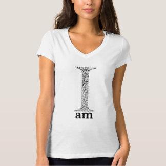 Soy la camiseta de las mujeres deportivas
