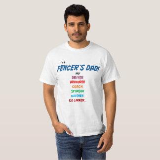 """""""Soy la camiseta del papá de un cercador""""."""