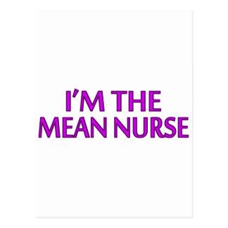 Soy la enfermera mala postal