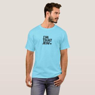 Soy la esa camiseta de los hombres del judío