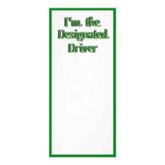 Soy la imagen del texto del conductor señalado tarjetas publicitarias personalizadas
