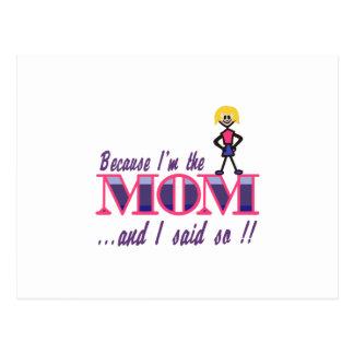 Soy la mamá postal