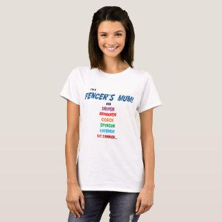 ¡Soy la momia de un cercador! Camiseta con el