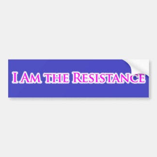 SOY la resistencia Pegatina Para Coche