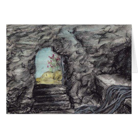 Soy la resurrección tarjeta de felicitación