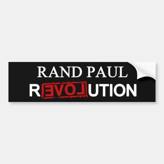 Soy la revolución de Paul del rand Pegatina Para Coche