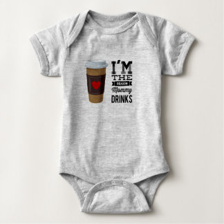 Soy las bebidas de la mamá de la razón body para bebé