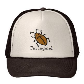 ¡Soy leyenda! Gorras De Camionero